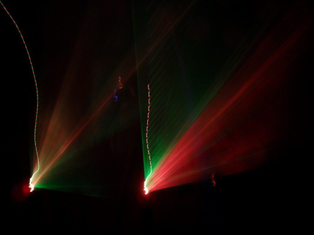 Edwin van der Heide, Laser Sound Performance, House of Orange