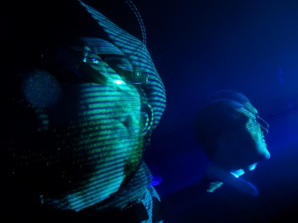 Edwin van der Heide, Laser Sound Performance, House of Orange
