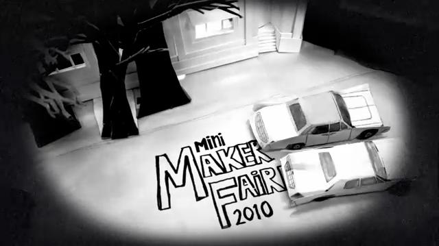 Mini Maker-Faire: Collaborative Stop-Motion Video Still